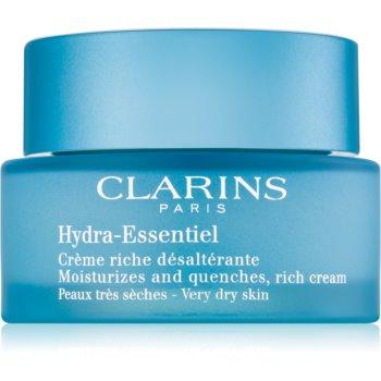 Clarins Hydra-Essentiel Silky Cream crema bogat hidratanta pentru piele foarte uscata