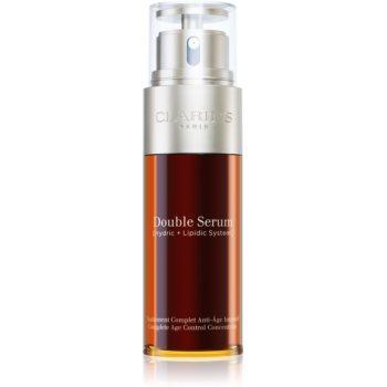 Clarins Double Serum ser intensiv împotriva îmbătrânirii pielii