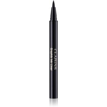 Clarins Eye Make-Up Graphik Ink Liner fixare de lunga durata pentru ochi culoare 01 Intense Black 0,4 ml