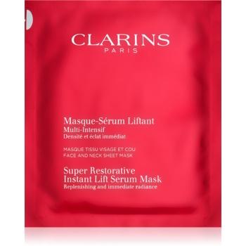 Clarins Super Restorative Instant Lift Serum Mask masca regeneratoare pentru netezirea instantanee a ridurilor imagine produs