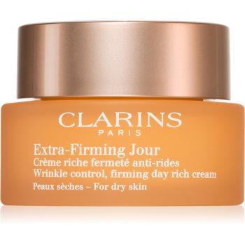 Clarins Extra-Firming Day crema de zi pentru lifting pentru tenul uscat poza noua