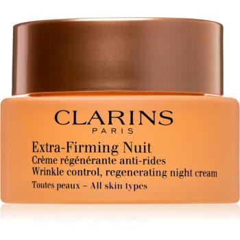 Clarins Extra-Firming Night cremă de noapte pentru fermitate cu efect de regenerare pentru toate tipurile de ten
