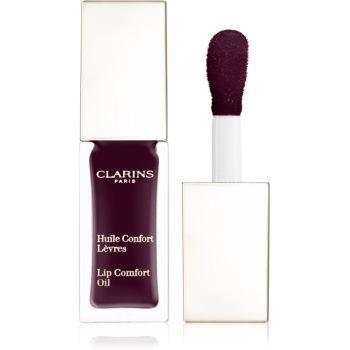 Clarins Instant Light Lip Comfort Oil vyživující péče na rty odstín 08 Blackberry 7 ml