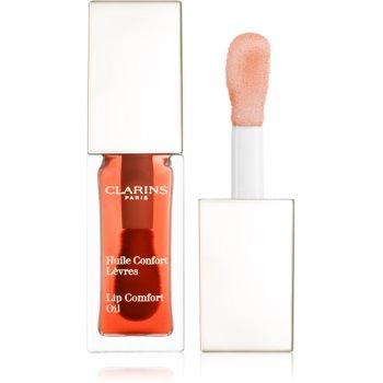 Clarins Instant Light Lip Comfort Oil vyživující péče na rty odstín 05 Tangerine 7 ml