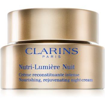 Clarins Nutri-Lumière Night crema de noapte hranitoare