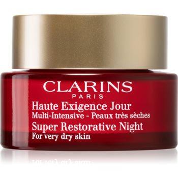 Fotografie CLARINS - Super Restorative Night - Vyplňující noční krém proti tmavým skvrnám Clarins
