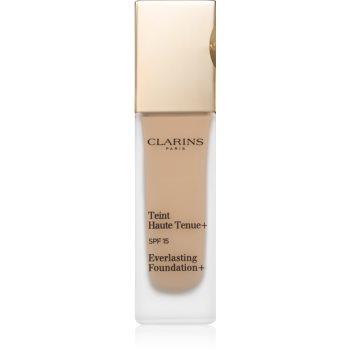 Clarins Everlasting Foundation+ fard lichid de lunga durata SPF 15