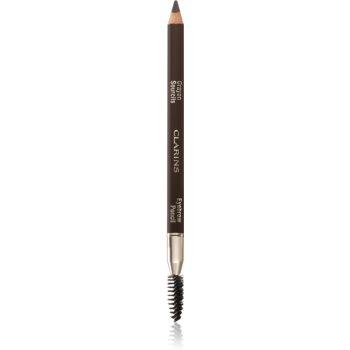 Clarins Eyebrow Pencil dlouhotrvající tužka na obočí odstín 01 Dark Brown 1,1 g