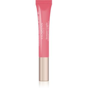 Clarins Lip Make-Up Instant Light lesk na rty s hydratačním účinkem odstín 01 Rose Shimmer 12 ml