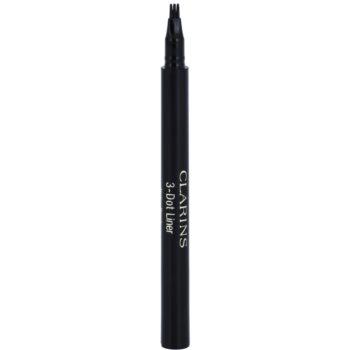 Fotografie Clarins Eye Make-Up 3-Dot Liner oční linky odstín Black 0,7 ml