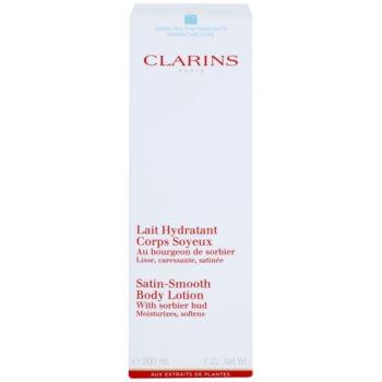 Clarins Body Hydrating Care зволожуюче молочко для тіла для ніжної і гладенької шкіри 2