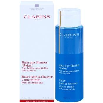 Clarins Body Specific Care dus relaxant si gel de baie cu uleiuri esentiale 1