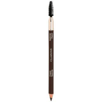 Clarins Eye Make-Up Eyebrow Pencil dlouhotrvající tužka na obočí odstín 01 Dark Brown 1,1 g