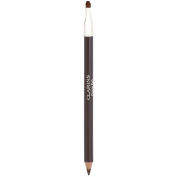 Fotografie Clarins Eye Make-Up Crayon Khôl tužka na oči se štětečkem odstín 02 Intense Brown 1,05 g