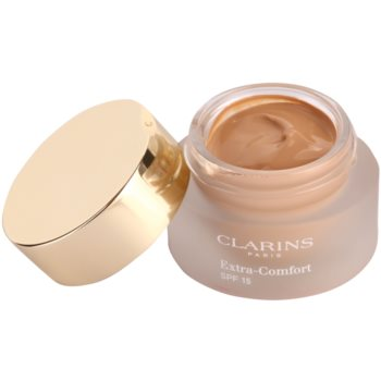 Clarins Face Make-Up Extra-Comfort rozjasňující a omlazující make-up pro přirozený vzhled SPF 15 1
