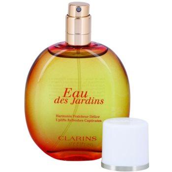 Clarins Eau Des Jardins Eau Fraiche pentru femei  reincarcabil 4