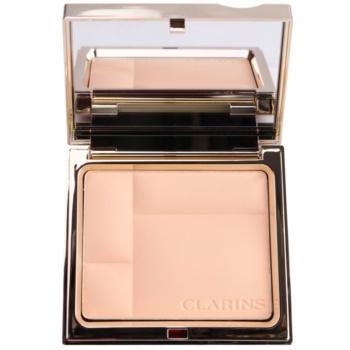 Clarins Face Make-Up Ever Matte pudra compacta cu minerale. pentru un aspect mat