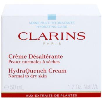 Clarins HydraQuench crema hidratanta pentru ten normal spre uscat 2