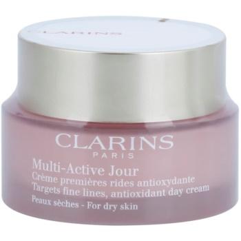 Fotografie Clarins Multi-Active antioxidační denní krém pro suchou pleť 50 ml