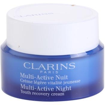 Fotografie Clarins Multi-Active noční revitalizační obnovující krém pro normální až smíšenou pleť 50 ml