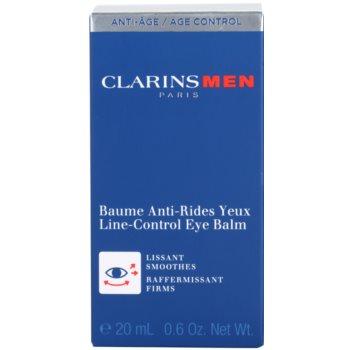 Clarins Men Age Control bálsamo reafirmante de olhos com efeito alisador 3