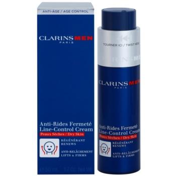 Clarins Men Age Control creme antirrugas para pele seca 2