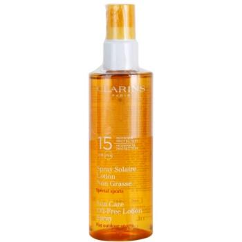Clarins Sun Protection Ulei-Free Sport protectie solara SPF 15