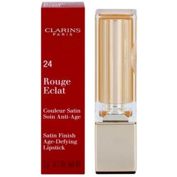Clarins Lip Make-Up Rouge Eclat ruj de ingrijire 2
