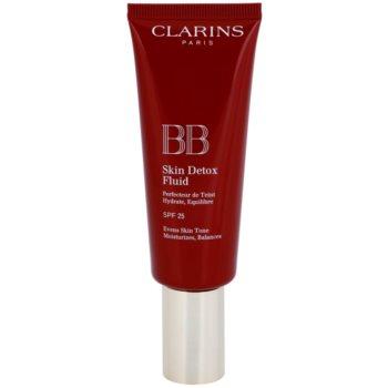 Fotografie Clarins Face Make-Up BB Skin Detox Fluid BB krém s hydratačním účinkem SPF 25 odstín 00 Fair 45 ml