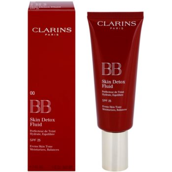Clarins Face Make-Up BB Skin Detox Fluid ВВ крем із зволожуючим ефектом SPF 25 1