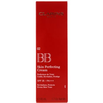Clarins Face Make-Up BB Skin Perfecting ВВ крем за безупречен изравнен тен на кожата SPF 25 1
