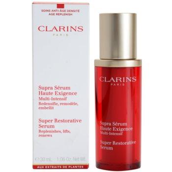 Clarins Super Restorative sérum para pele madura 1