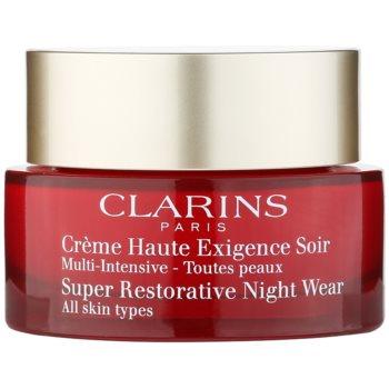 Clarins Super Restorative crema de noapte revitalizanta pentru toate tipurile de ten