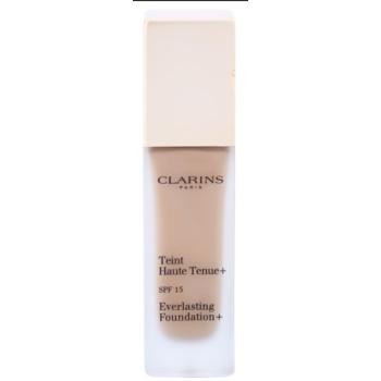 Fotografie Clarins Face Make-Up Everlasting Foundation+ dlouhotrvající tekutý make-up SPF15 odstín 112 Amber 30 ml