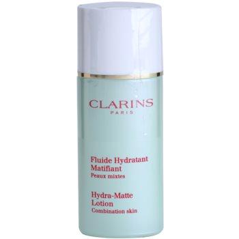 Clarins Truly Matte успокояващ и хидратиращ флуид против мазна кожа и разширени пори
