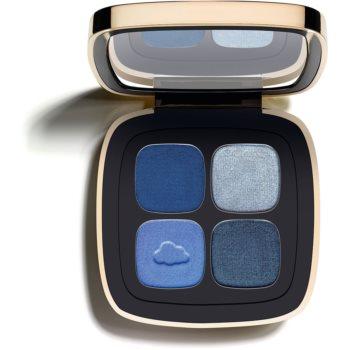 Claudia Schiffer Make Up Eyes paleta očních stínů odstín 62 Denim 4,5 g
