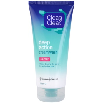 Image of Clean & Clear Deep Action Deep Cleansing Cream Emulsion For Face 150 ml