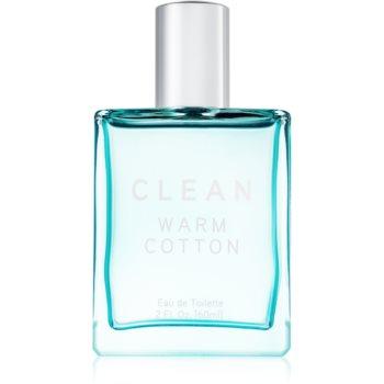 Clean Warm Cotton eau de toilette pentru femei 60 ml