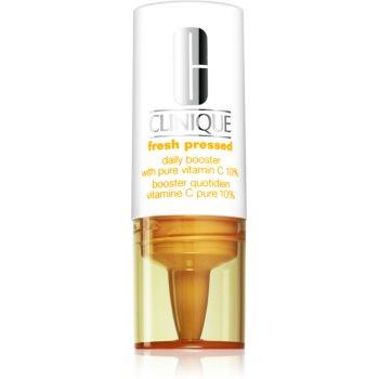 Clinique Fresh Pressed ser stralucire cu vitamina C împotriva îmbătrânirii pielii
