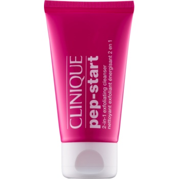 Clinique Pep-Start™ gel de curatare exfoliant 2 in 1