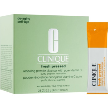 Clinique Fresh Pressed™ pudra de curatare cu vitamina C