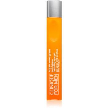 Clinique For Men Super Energizer gel pentru ochi împotriva ridurilor și a cearcănelor întunecate