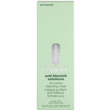 Clinique Anti - Blemish Reinigungsmaske für fettige und Mischhaut 3