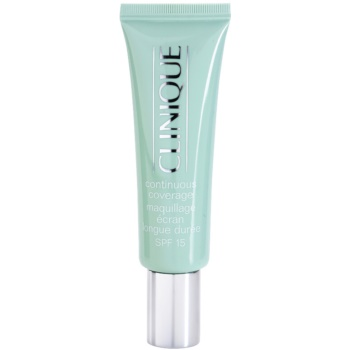 Clinique Continuous Coverage krycí make-up SPF15 odstín 01 Porcelain Glow 30 ml