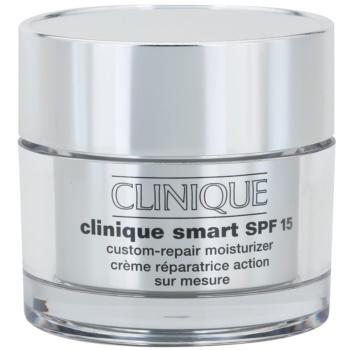 Clinique Clinique Smart krem nawilżający na dzień przeciw zmarszczkom do skóry suchej i bardzo suchej SPF 15