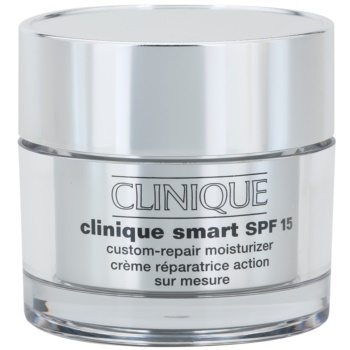 Clinique Clinique Smart crema anti-rid hidratanta pentru ten uscat și combinat crema anti-rid hidratanta pentru ten uscat și foarte uscat SPF 15  50 ml