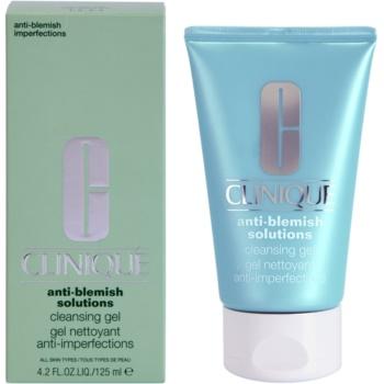 Clinique Anti-Blemish Solutions почистващ гел  против несъвършенства на кожата 1