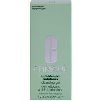 Clinique Anti-Blemish Solutions почистващ гел  против несъвършенства на кожата 2