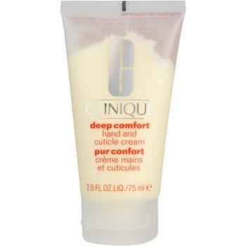 Clinique Deep Comfort crema puternic hidratanta pe maini, unghii si cuticule