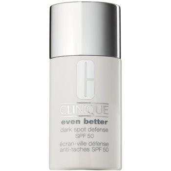 Clinique Even Better™ Dark Spot Defense crème de protectie anti-acnee SPF 50